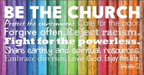 be the church rainbow